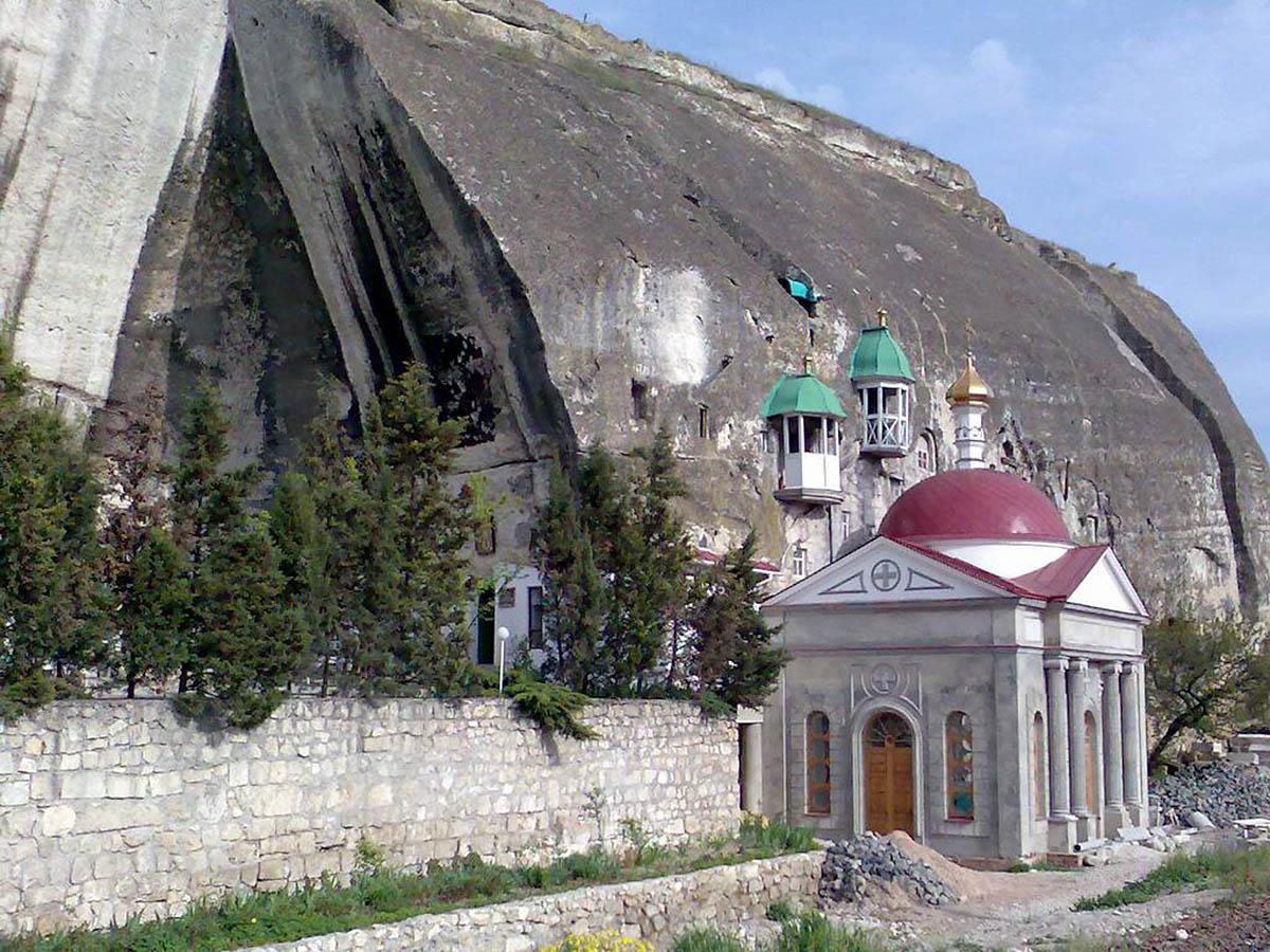 церковь Святого Пантелеймона в Инкерманском пещерном монастыре