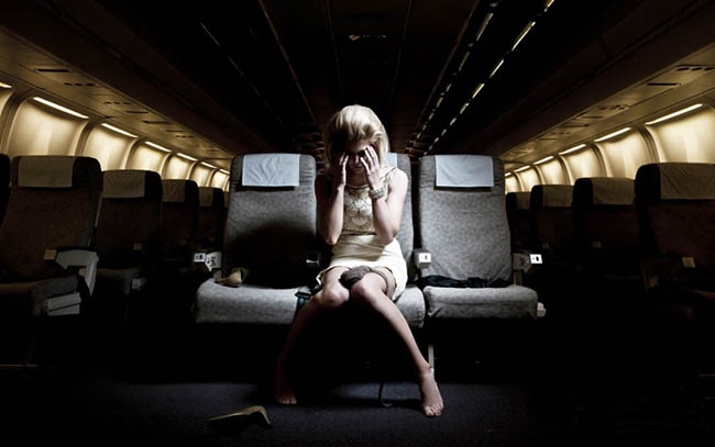 укачало в самолете
