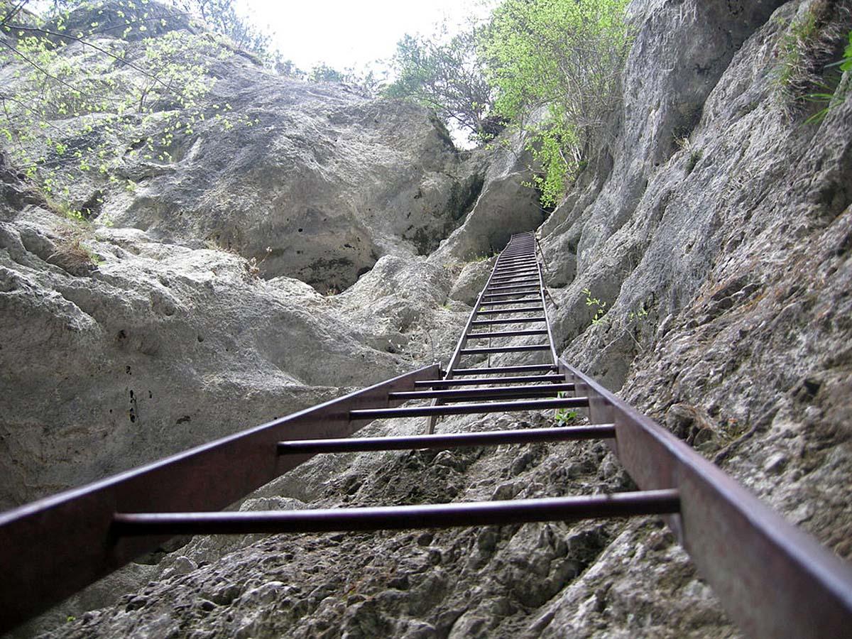 ущелье Штайнвандкламм, Австрия