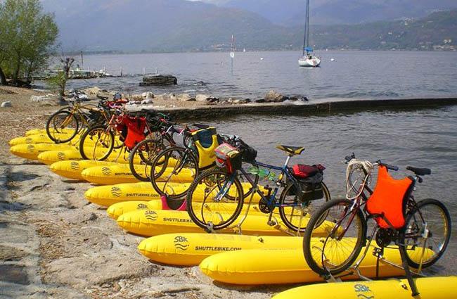 велосипед-амфибия Shuttlebike