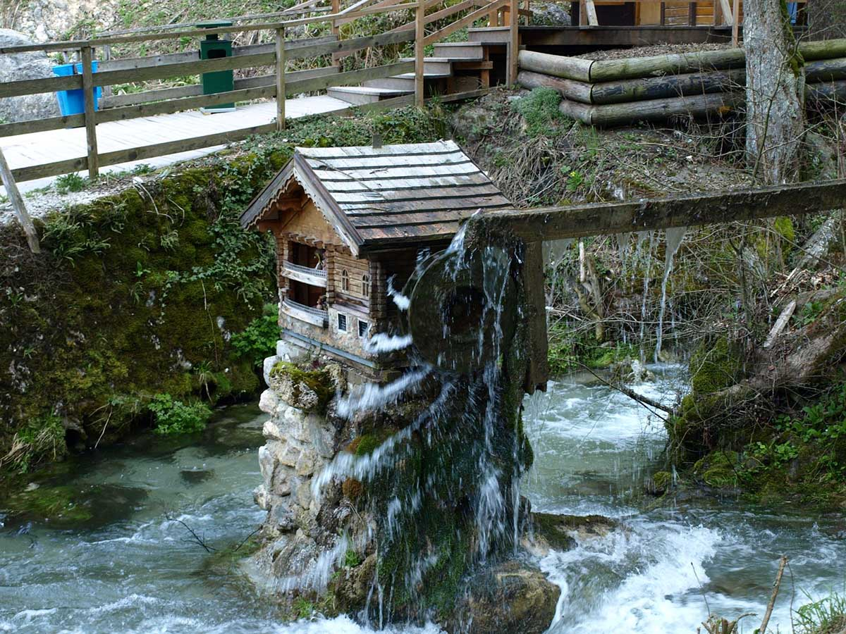 водопады Мюра, Австрия