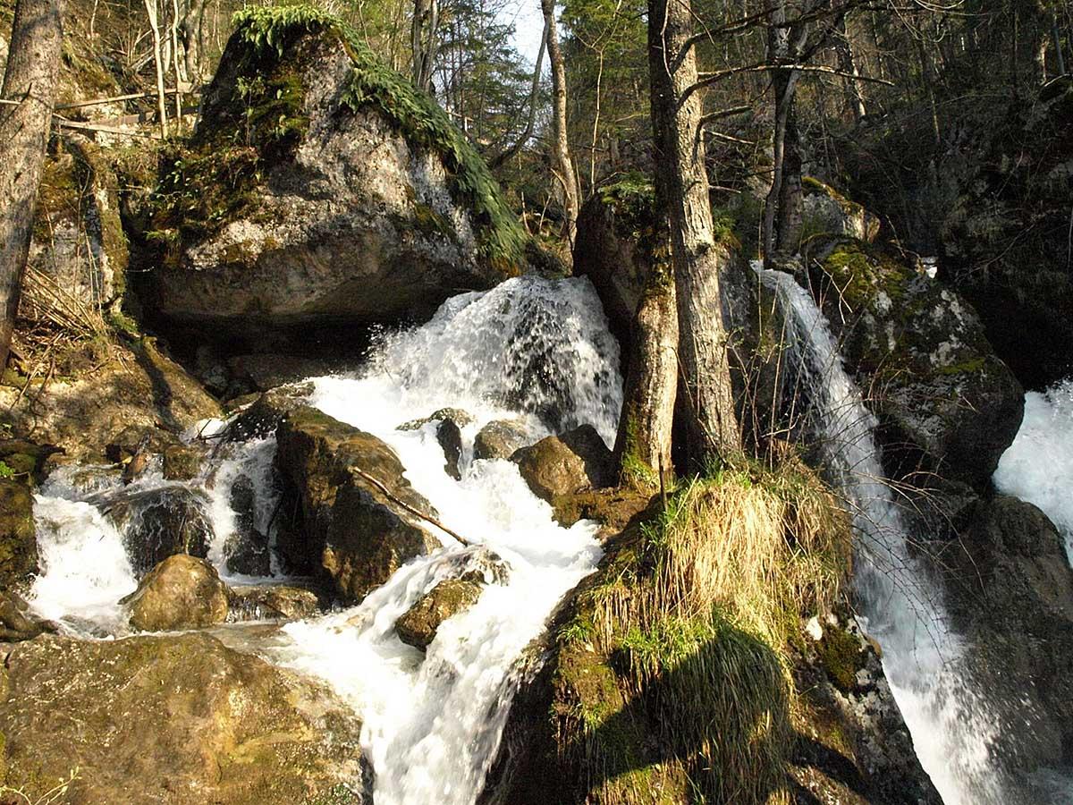 водопады Мюра в Австрии