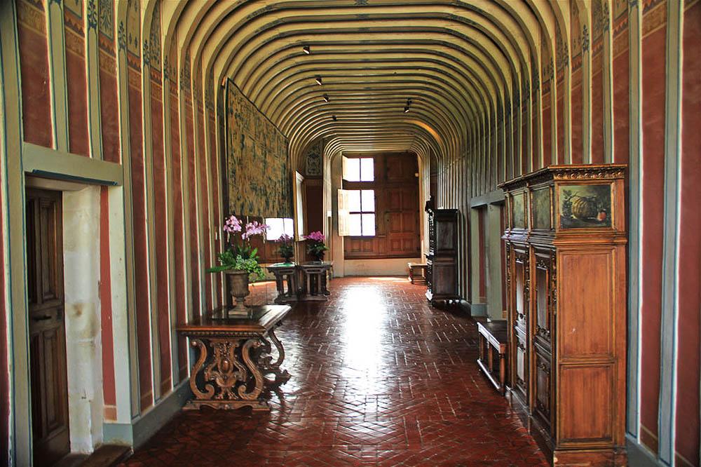 замок Шенонсо, интерьер