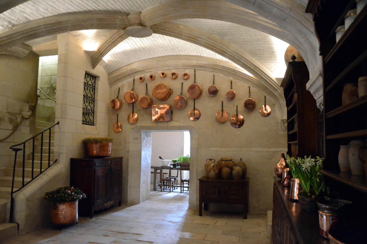 замок Шенонсо внутри
