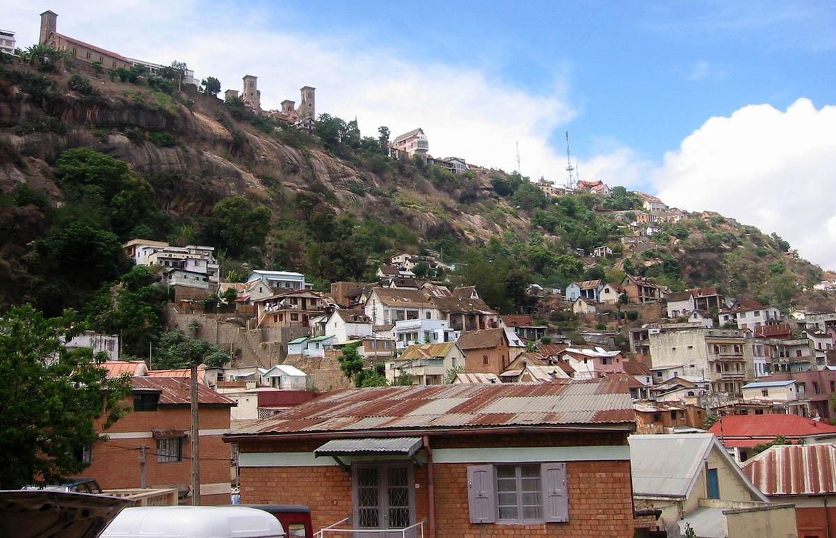 Antananarivo, Rova Palast