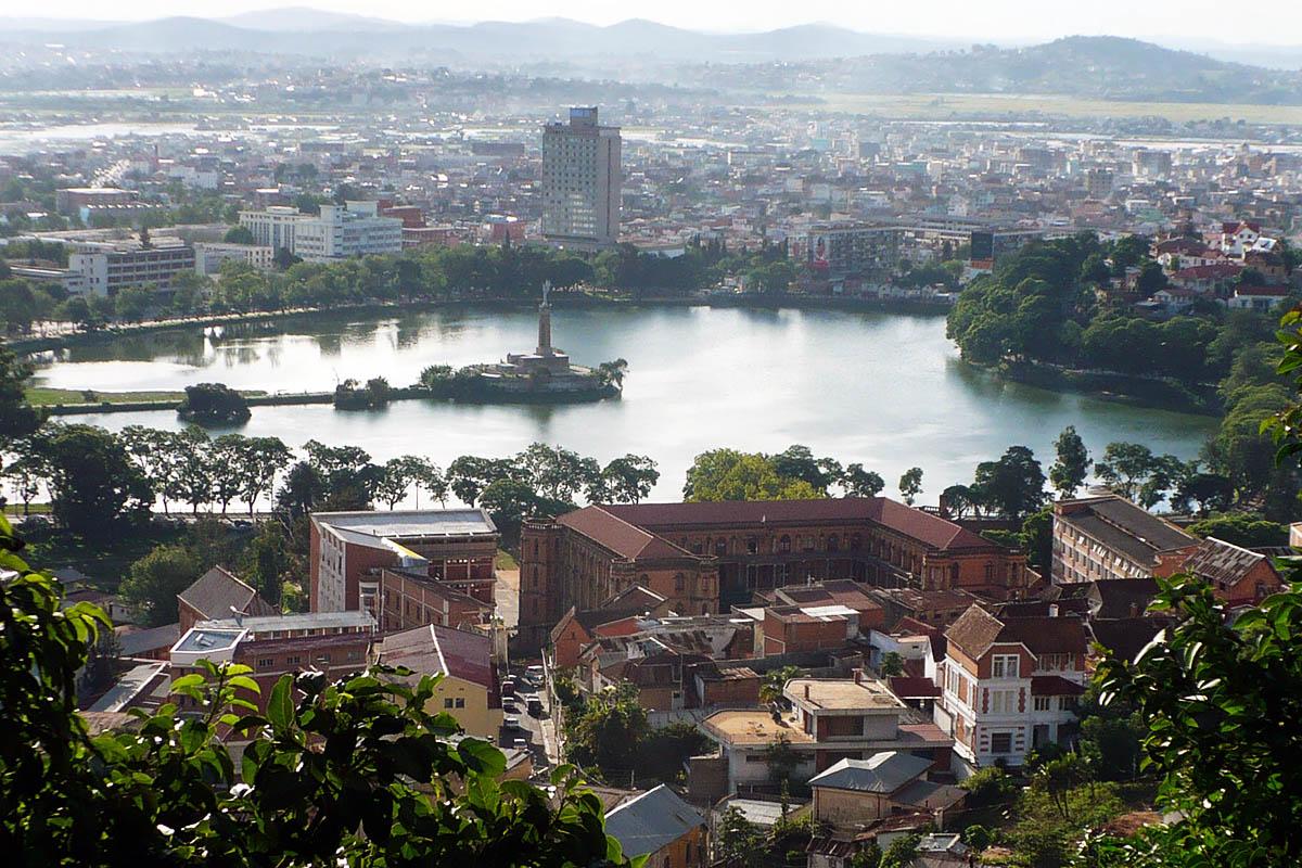 Antananarivo in Madagaskar