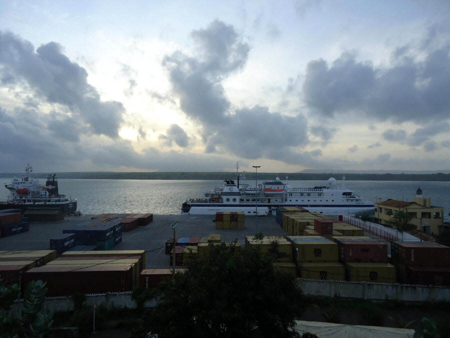 Antsiranana Isla de Madagascar