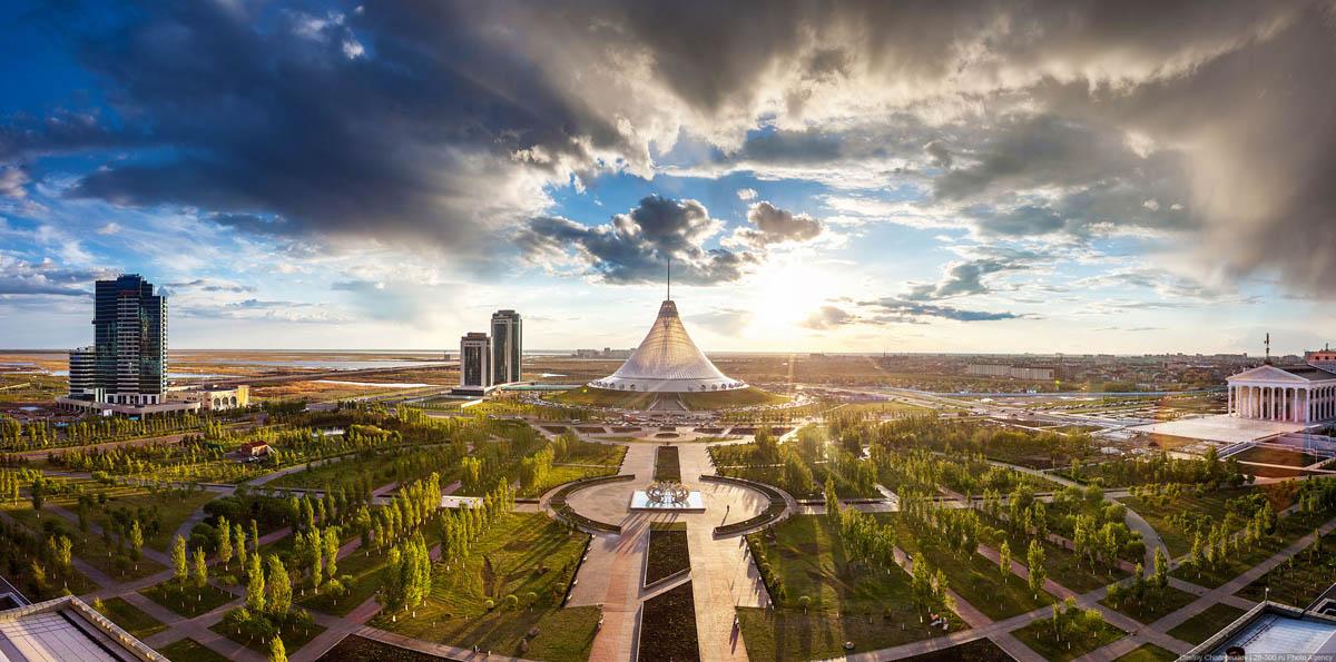 Астана весной