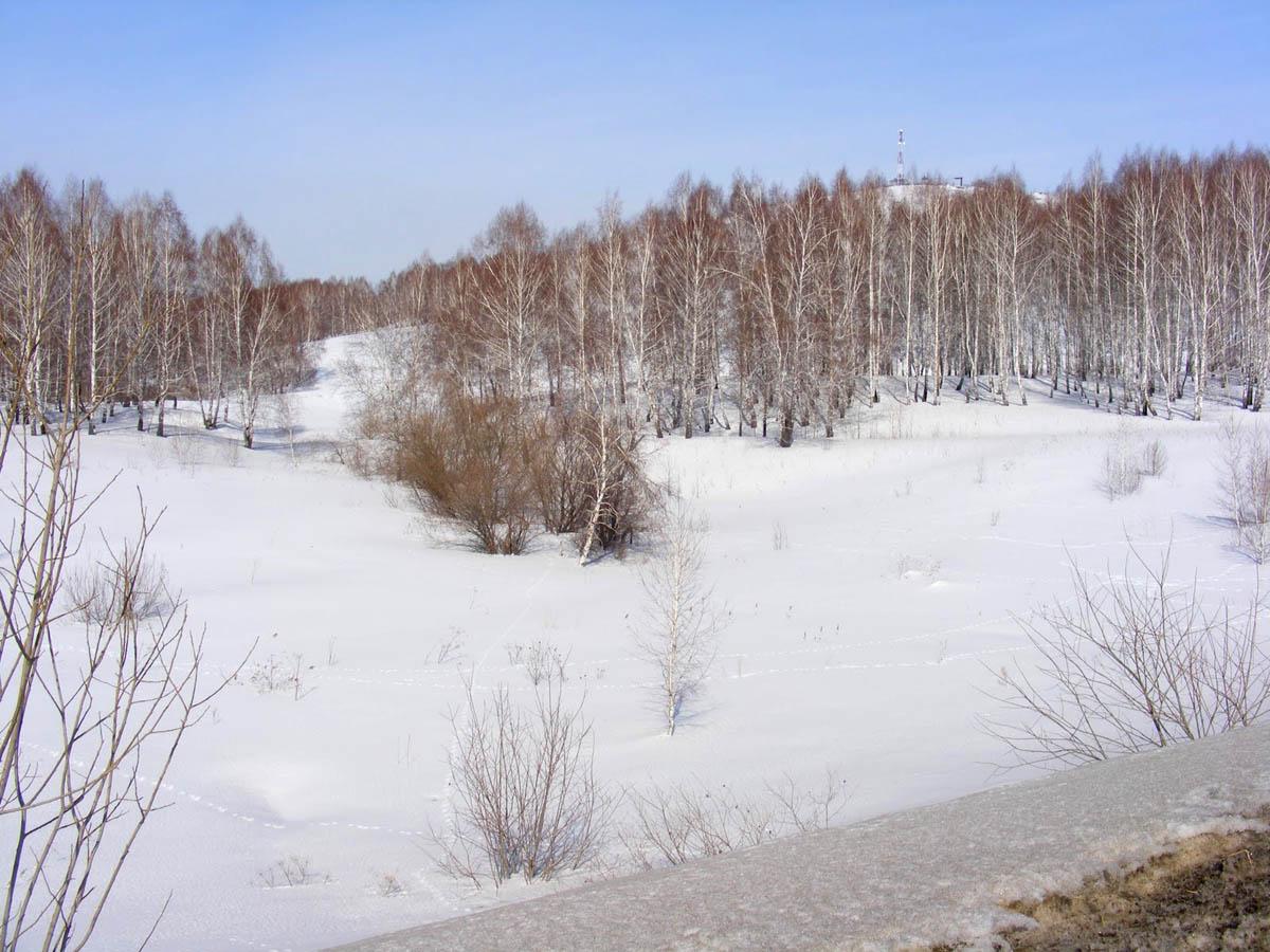 Буготакские сопки зимой
