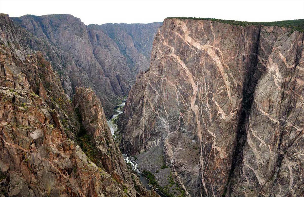 Черный каньон Ганнисона, Колорадо, США
