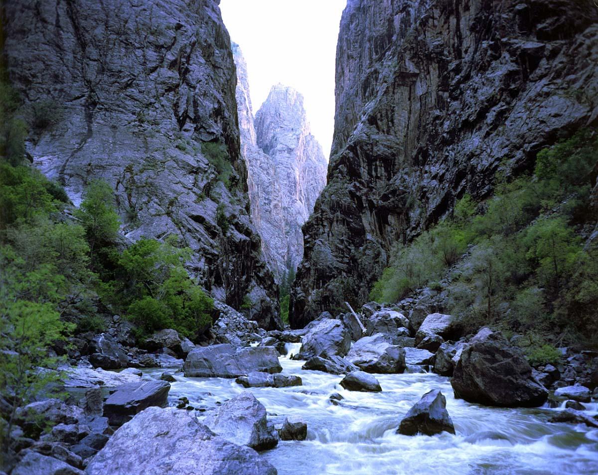 Черный каньон Ганнисона, США