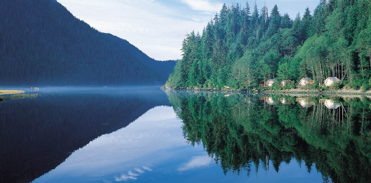 Clayoquot Wilderness Resort, Ванкувер, Канада