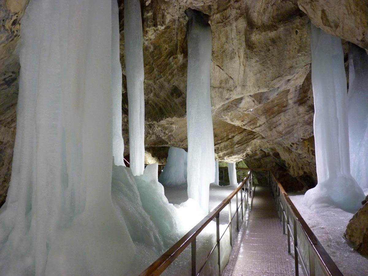 Демановская ледяная пещера, Словакия
