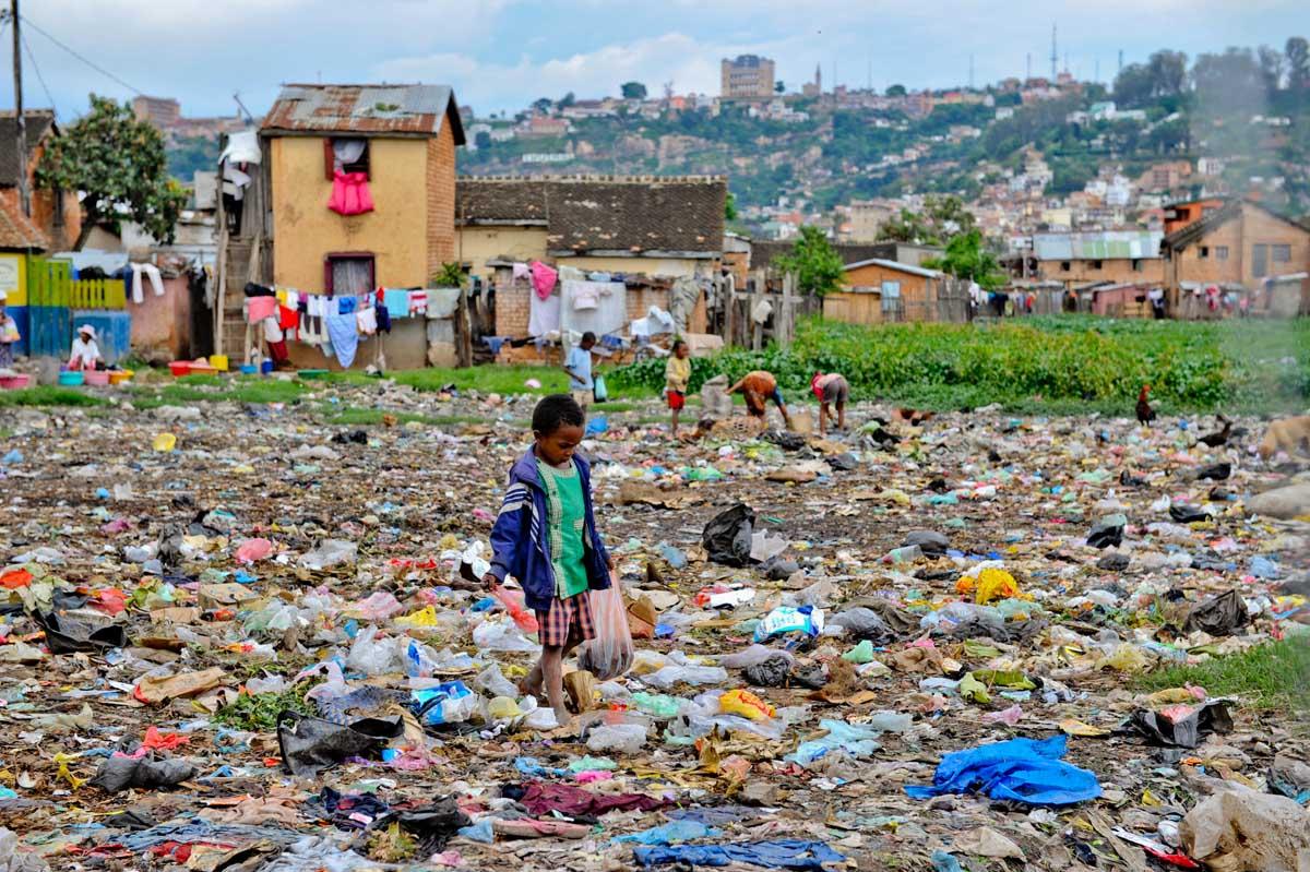Enfant des rues, Madagascar