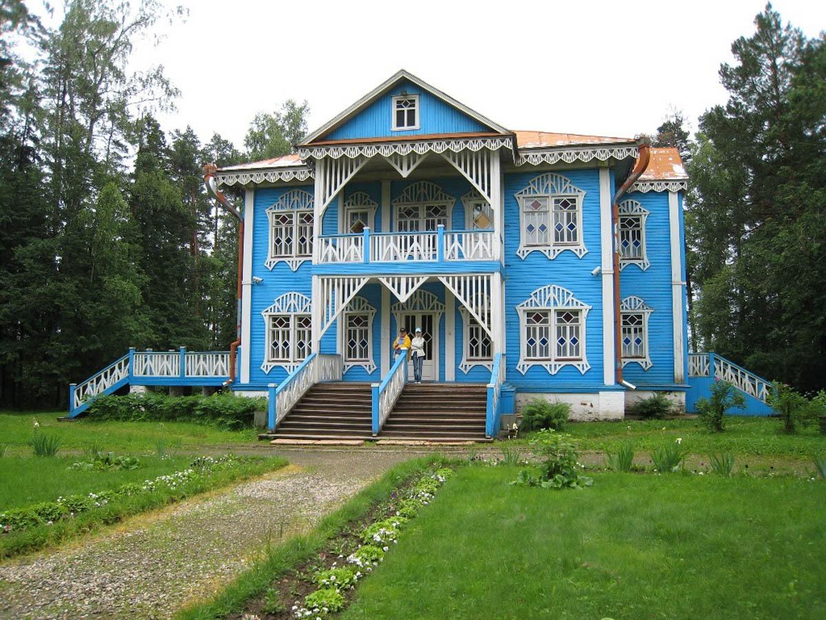 Голубой дом в Щелыково