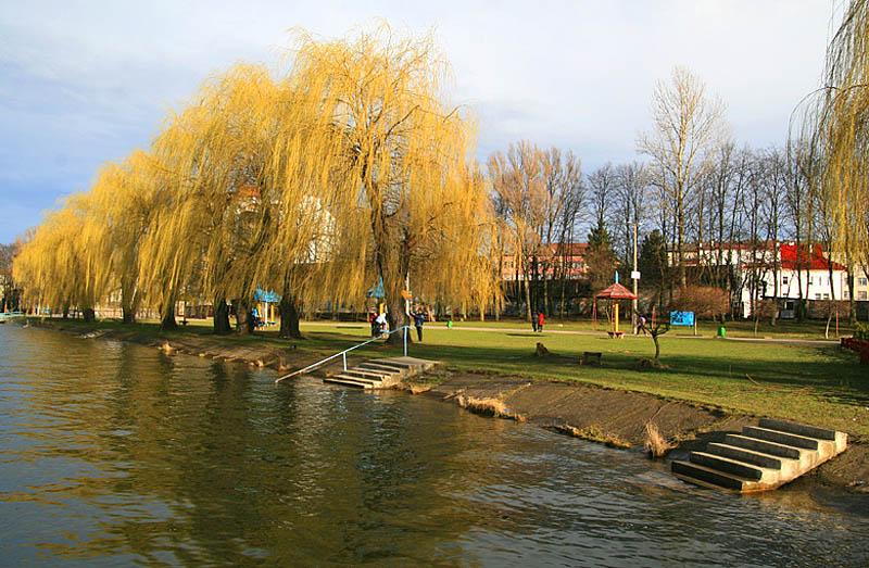Городское озеро, Ивано-Франковск