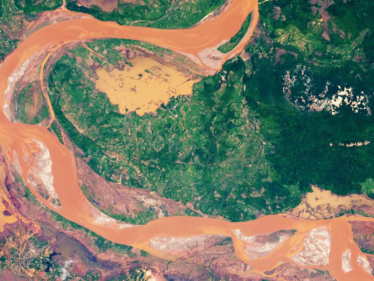 Мадагаскар с высоты