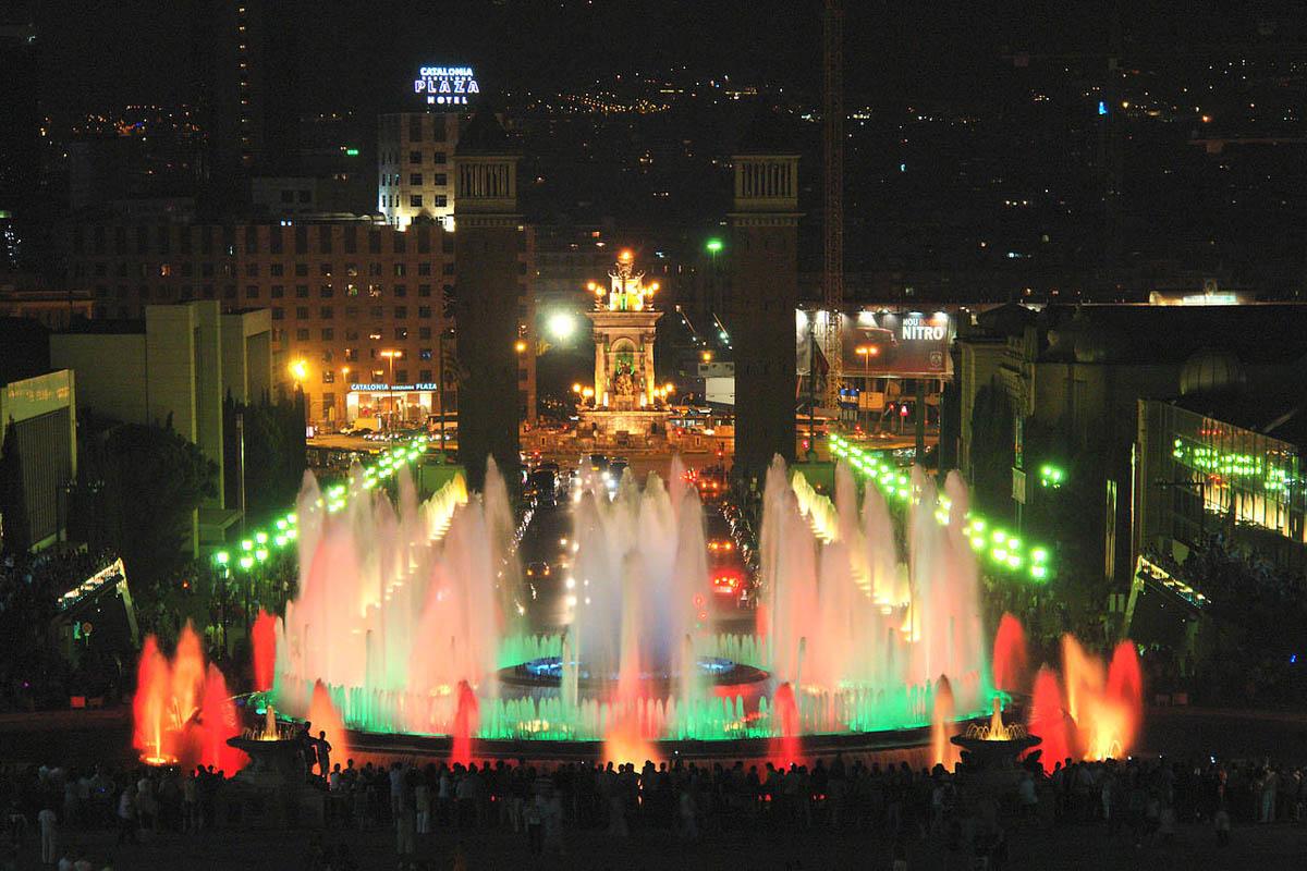 Magic Fountain, Montju?c Park