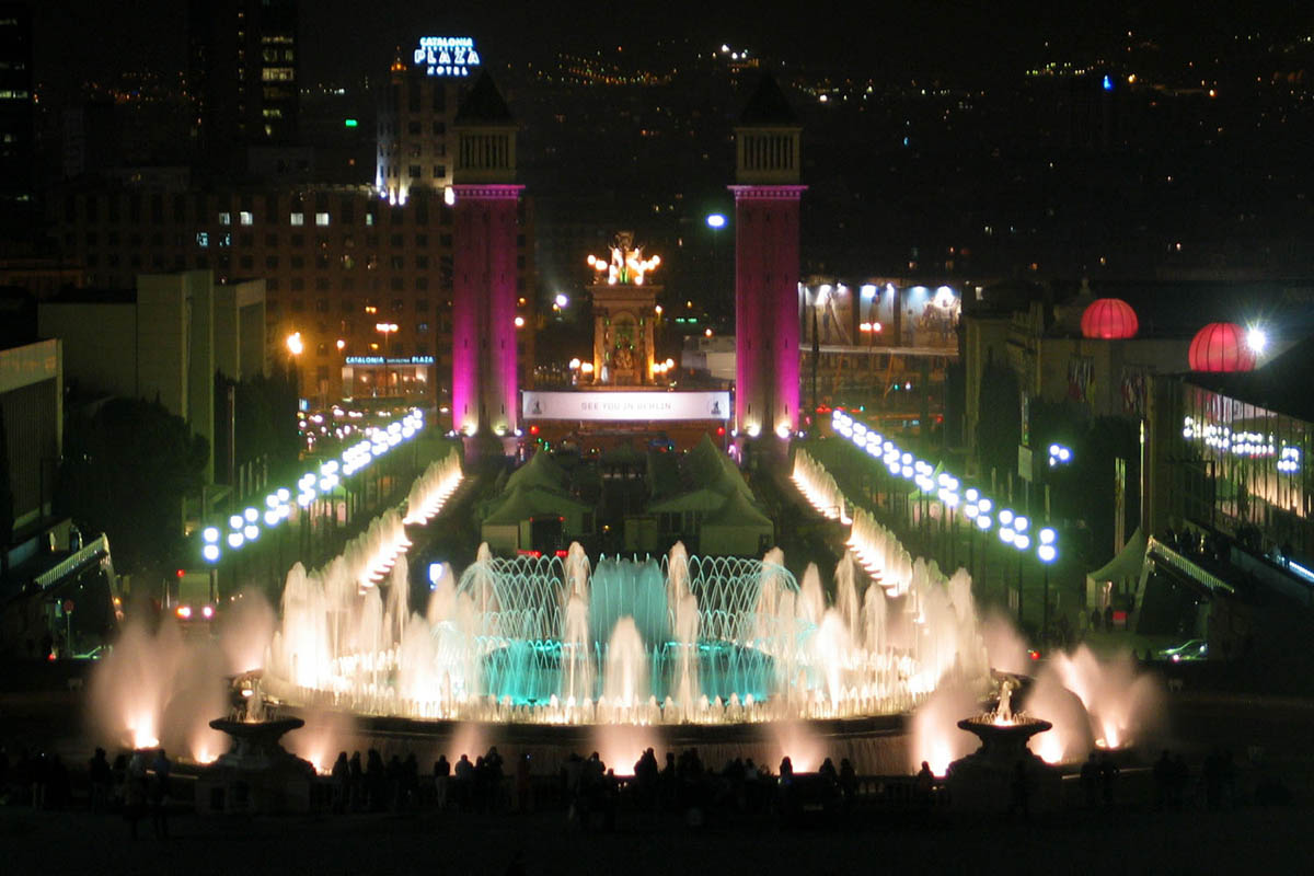 Magic Fountain, Pla?a de Carles Bu?gas, Montju?c Park