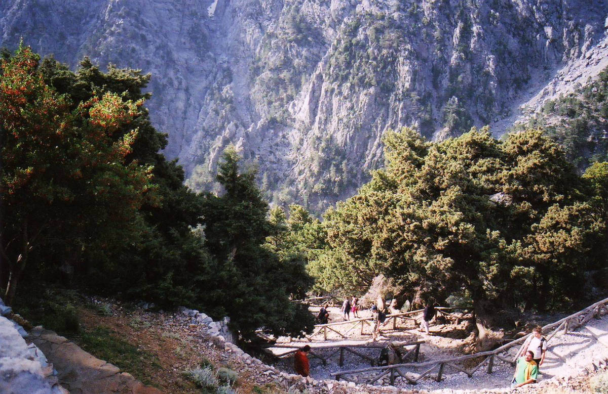 National Park Samaria, Greece