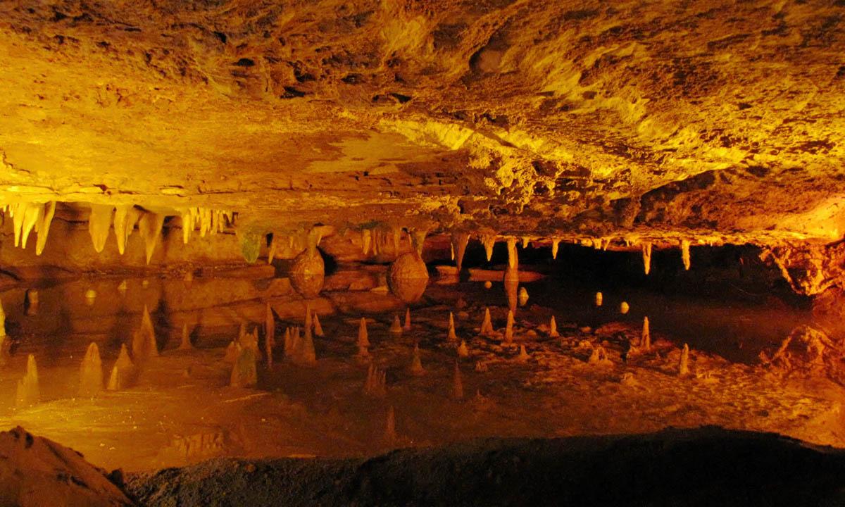 Reflection Pool at Skyline Caverns, Shenandoah