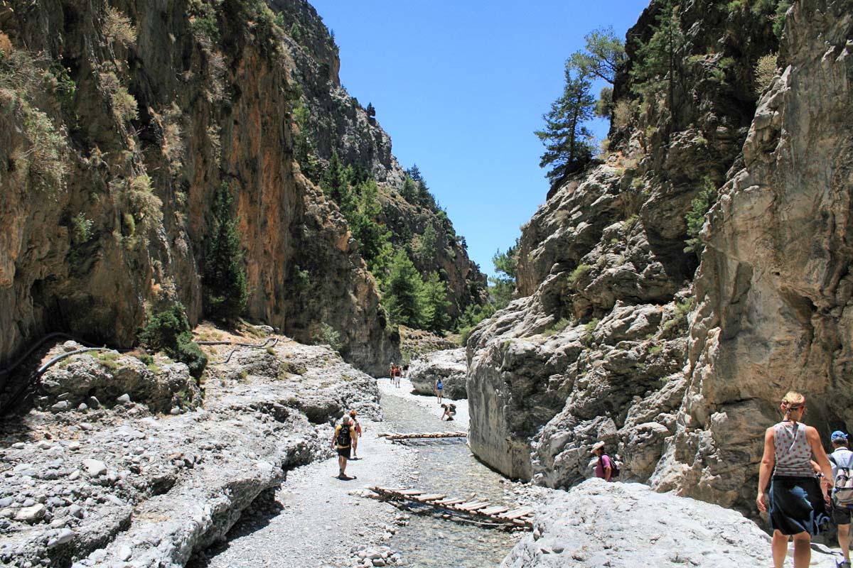 Самарийское ущелье, Крит, Греция