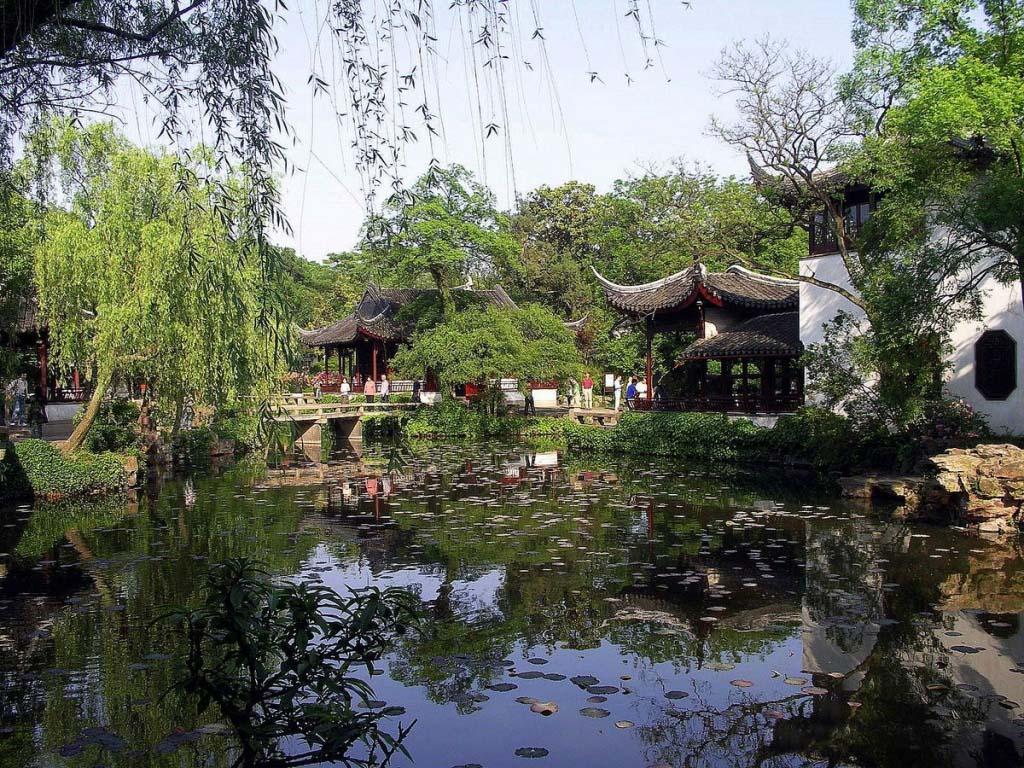 Zhuo Zheng yuan, Suzhou, China