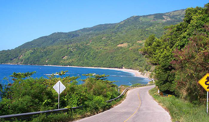 аномальная дорога Поло Магнетико в Доминикане