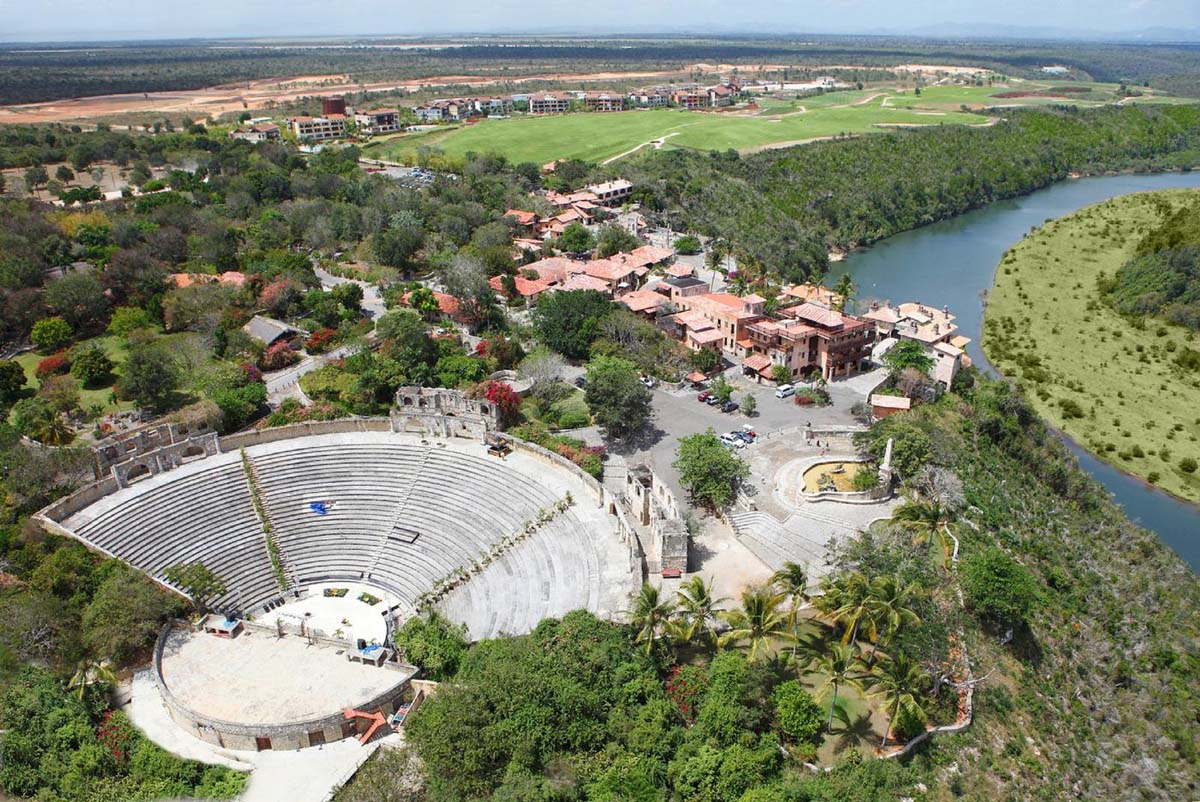деревня Альтос де Чавон, вид с высоты
