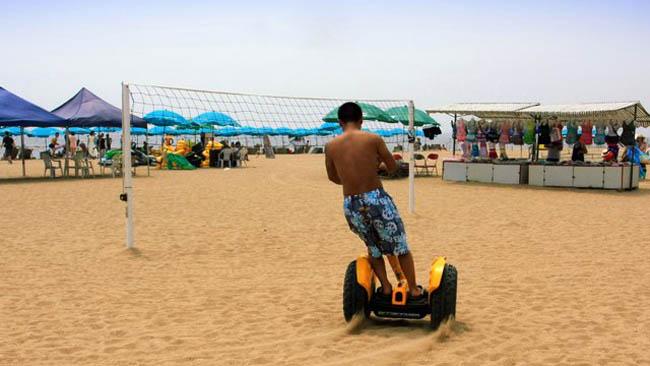двухколесный электроцикл Ecoboomer