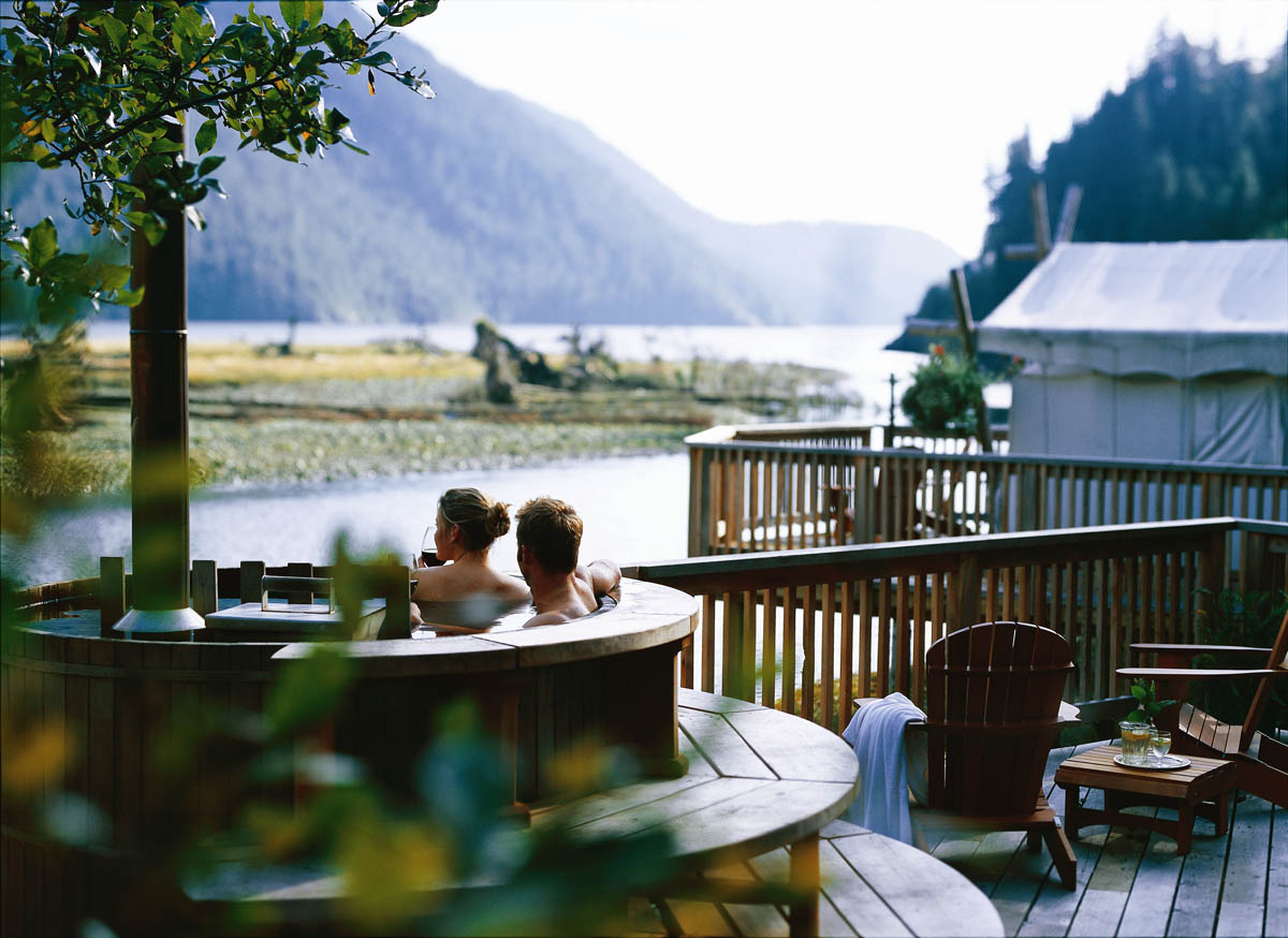 эко-курорт Clayoquot Wilderness Resort, Канада