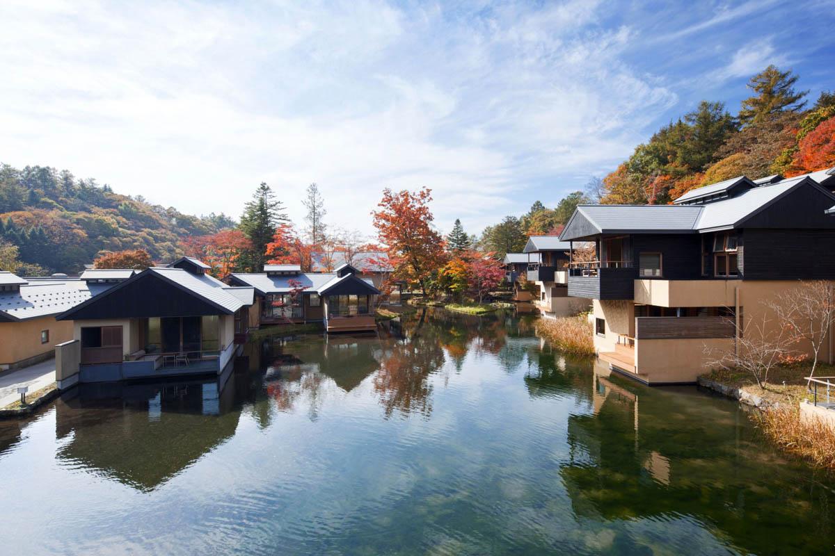 эко-курорт Hoshinoya Karuizawa в Японии