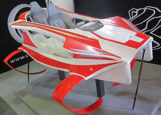электрический гидроцикл Quadrofoil