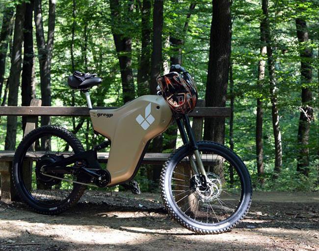 электрический веломотоцикл Greyp