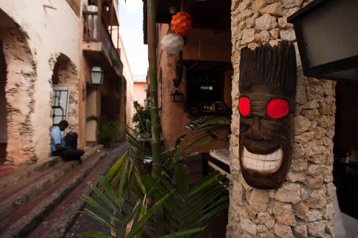 этнические маски в Альтос де Чавон