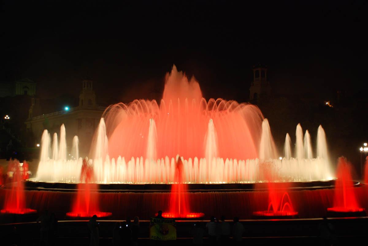 фонтан Монтжуика, Барселона, Испания