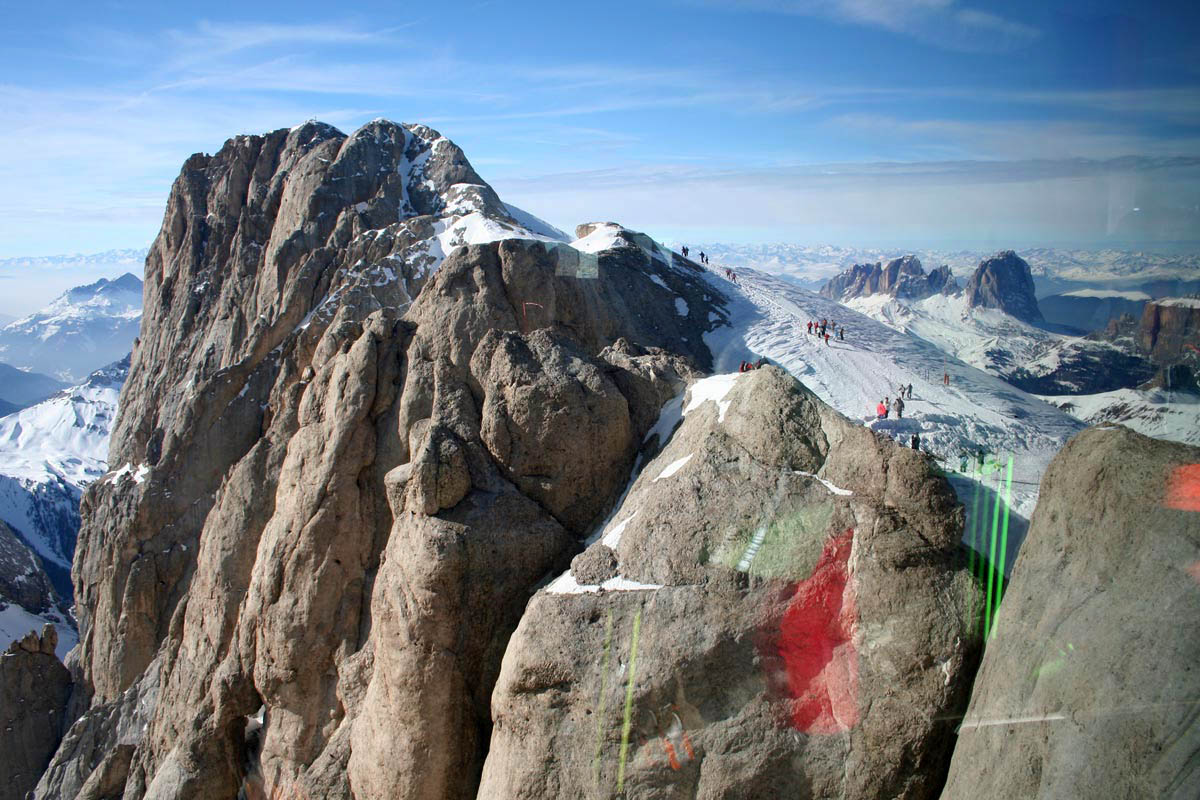 гора Мармолада, Доломитовые Альпы, Италия