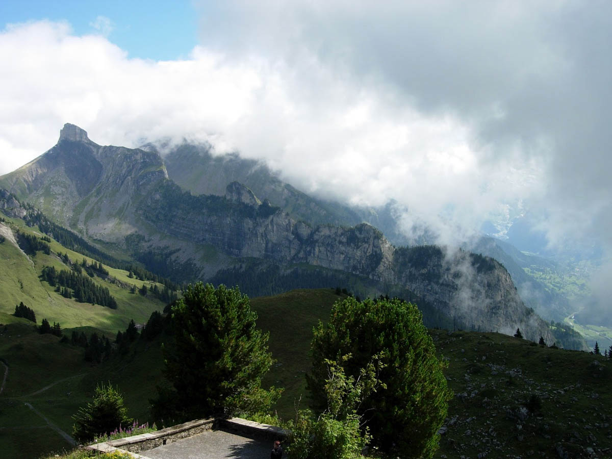 гора Юнгфрау, Альпы, Швейцария