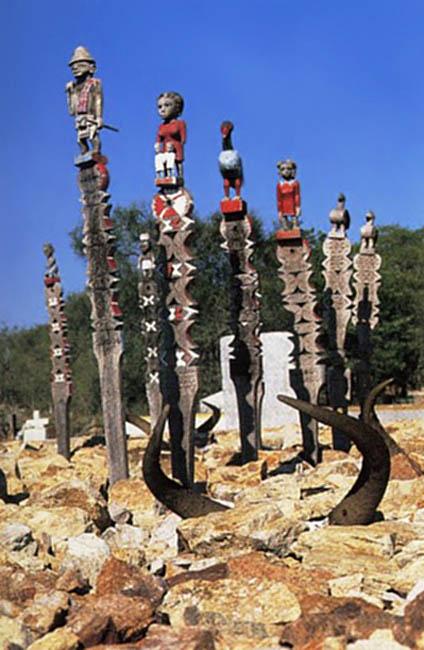 кладбище на Мадагаскаре