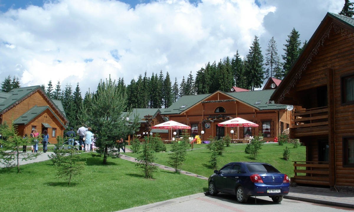 курорт Буковель