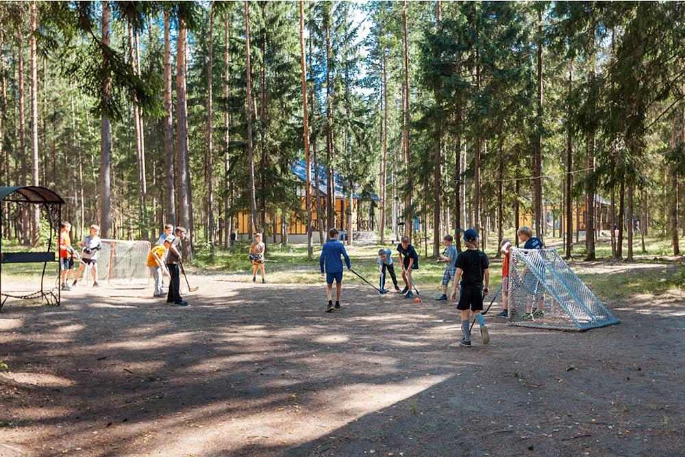 летний хоккей в поселке Драгунский ручей