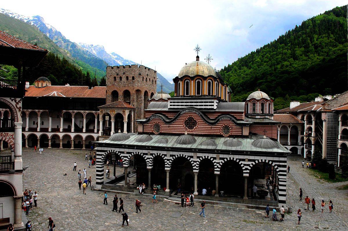 монастырь Рила, Болгария