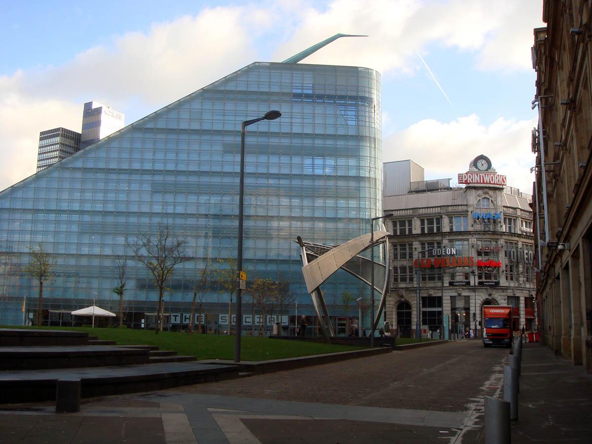 музей Урбис в Манчестере
