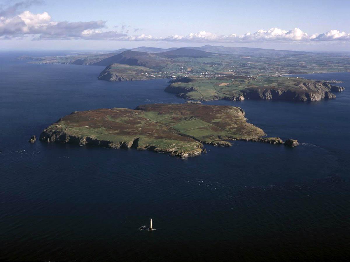 остров Каф-оф-Мэн с высоты