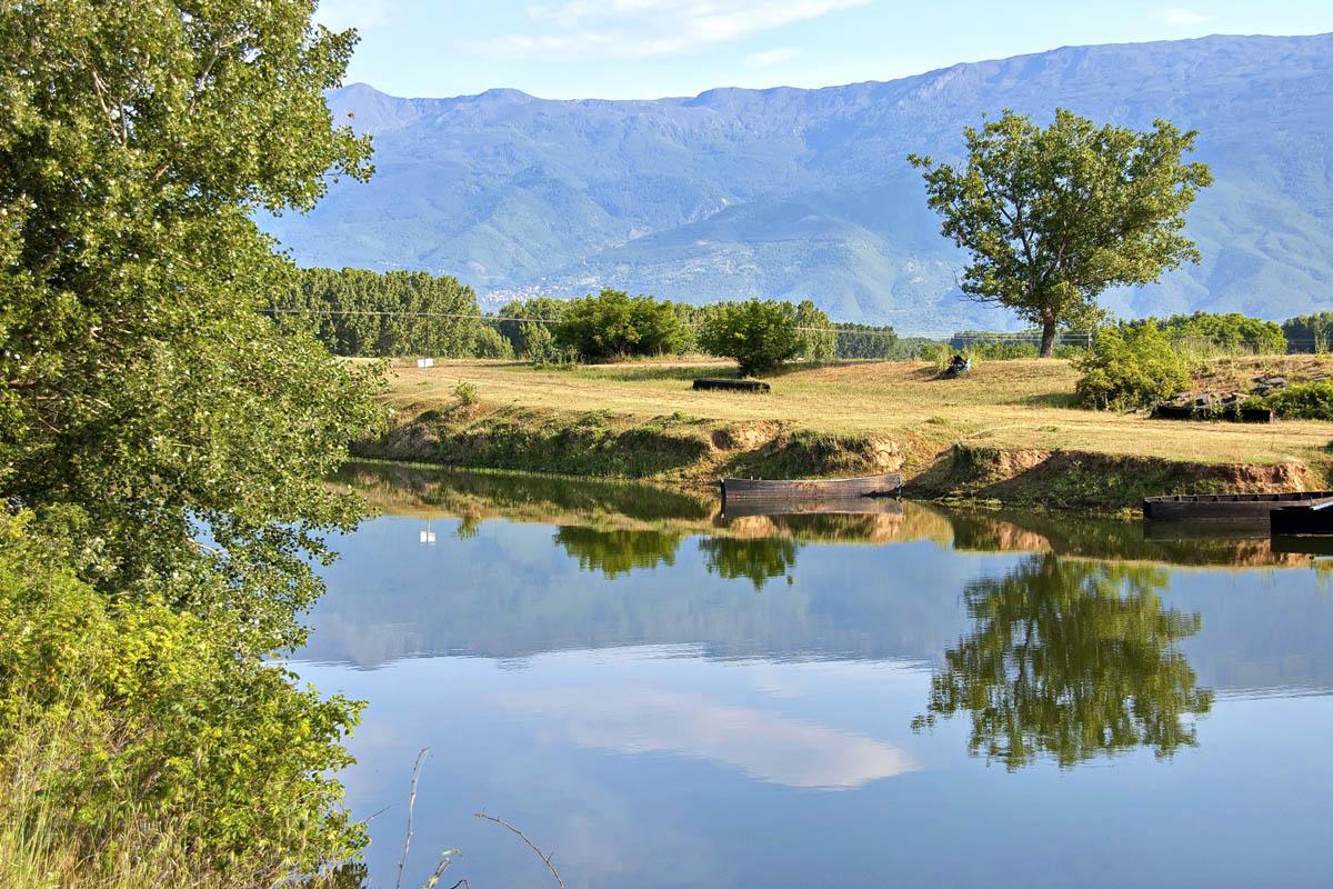 озеро Керкини, Серрес, Греция