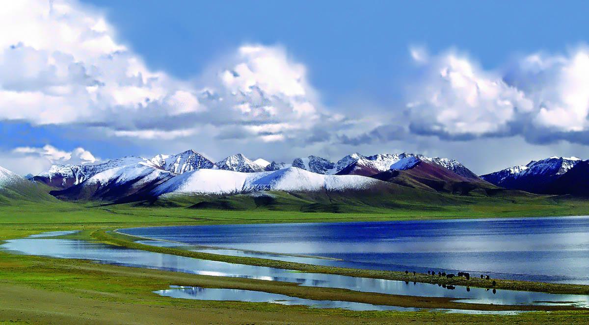 озеро Намцо, Тибет, Китай