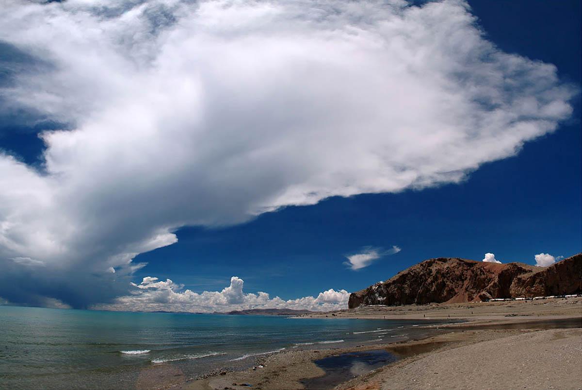 озеро Намцо, Тибет