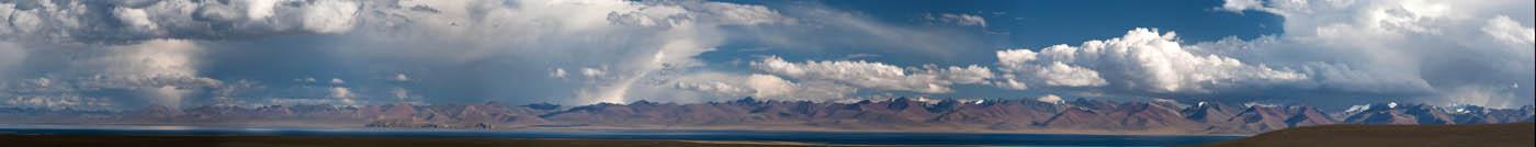 озеро Намцо (панорама)