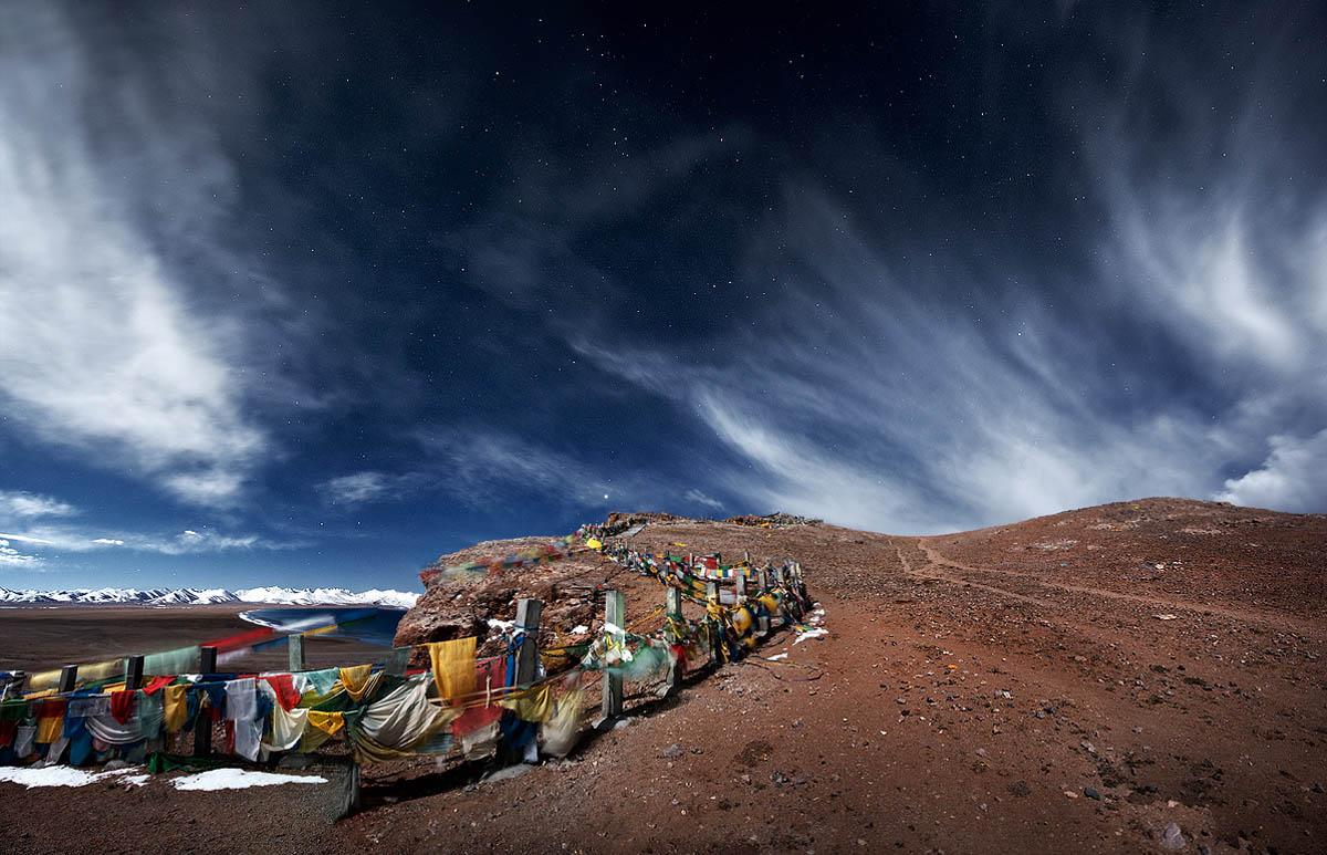 озеро Намцо в Тибете