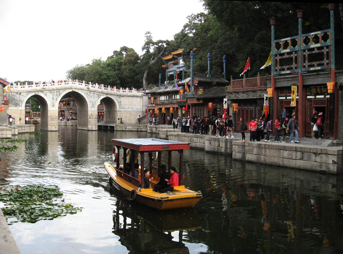 парк Ихэюань, Пекин, Китай